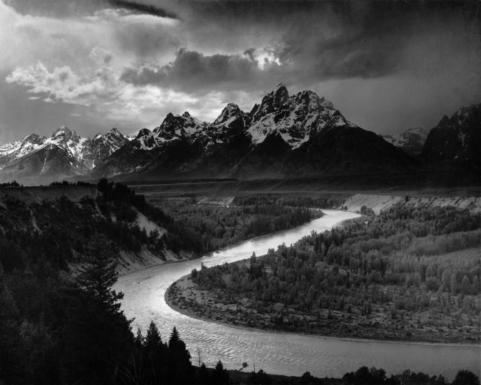 Adams The Tetons and the Snake River Personnalisé